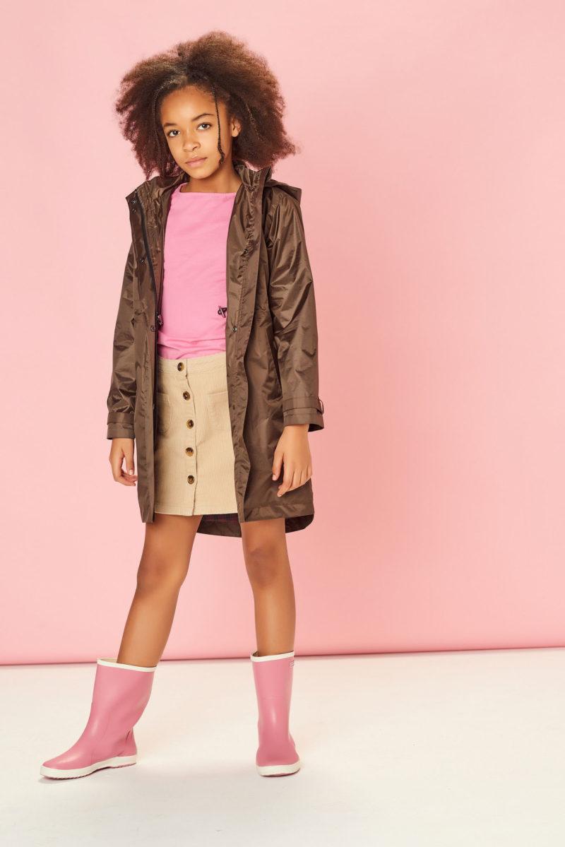 Płaszcz przeciwdeszczowy dziecięcy Chocolate Brown