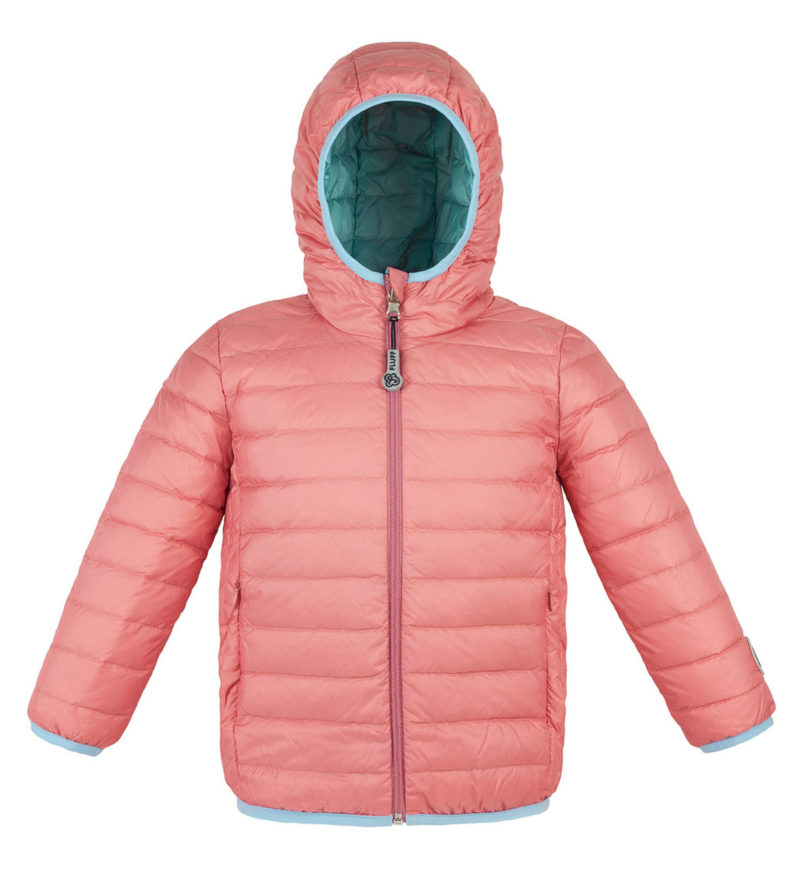 Mint and Nude ultralight down jacket
