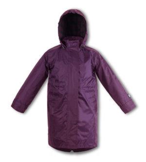 Purple kids raincoat