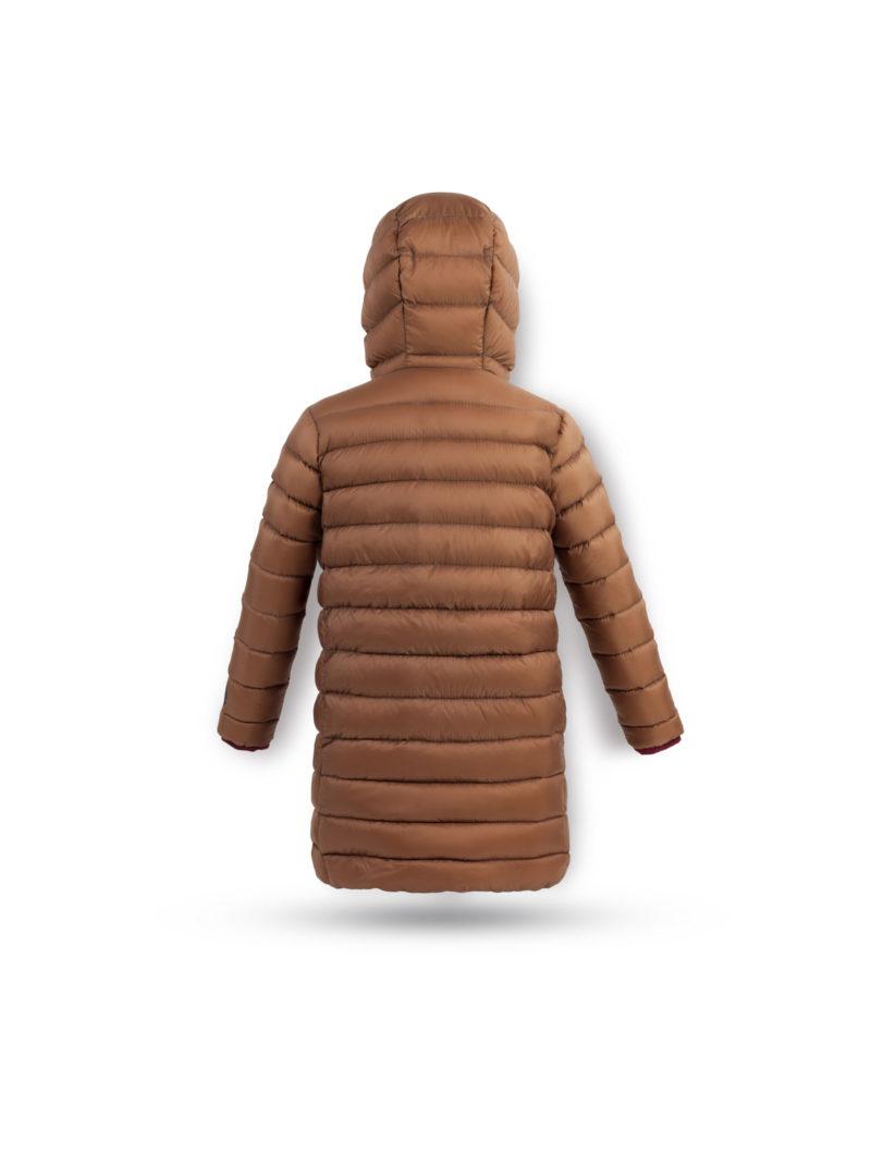 Chocolate brown coat