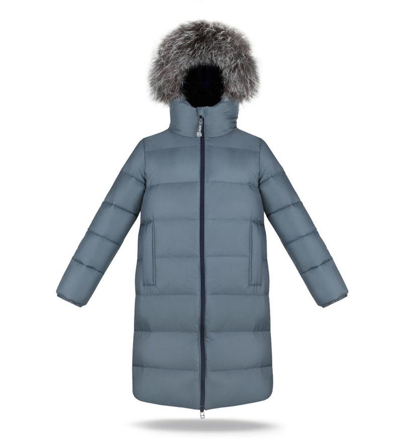 Boy Grey Stone Coat