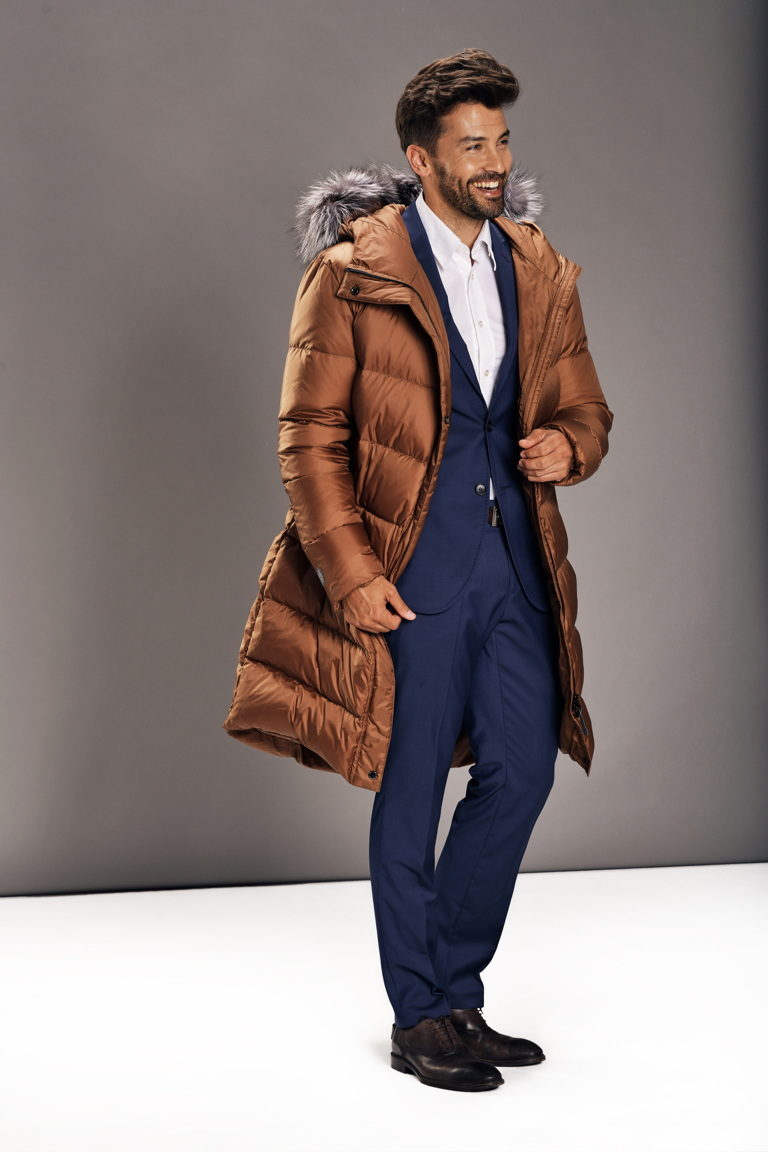 Chocolate Brown Man coat