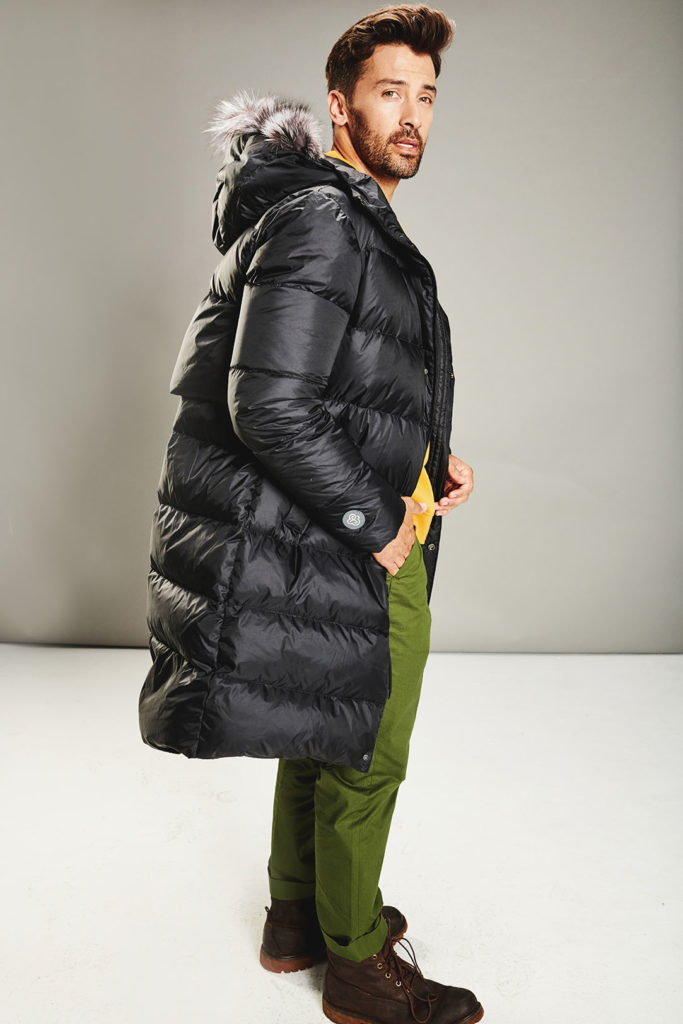 Black Coffee Man coat