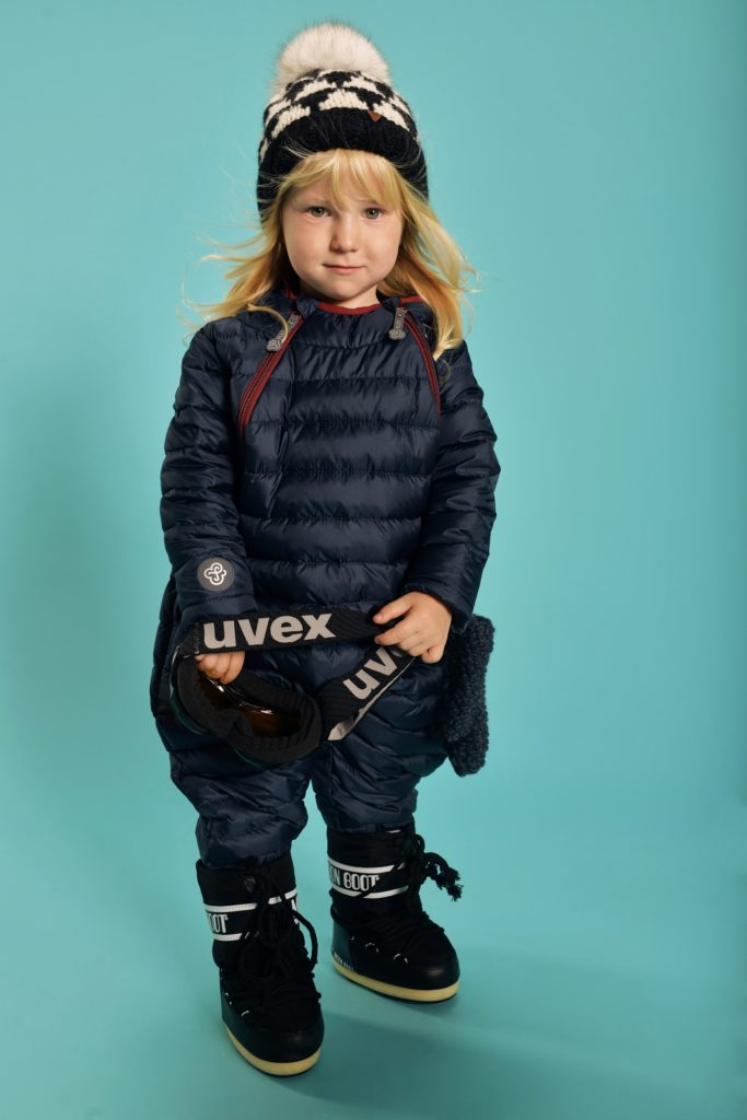 Navy Blue snowsuit