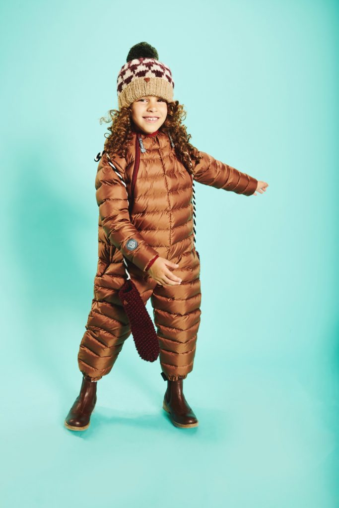 Chocolate Brown snowsuit