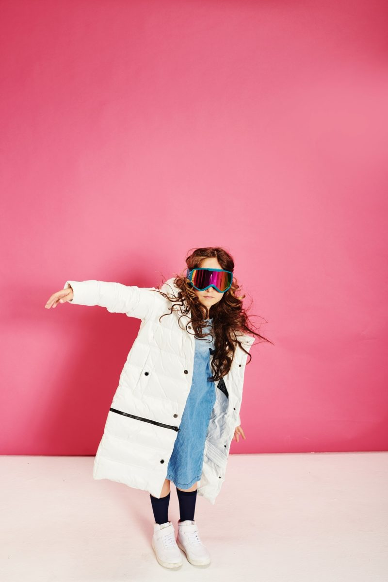 Two lengths white coat - ECO