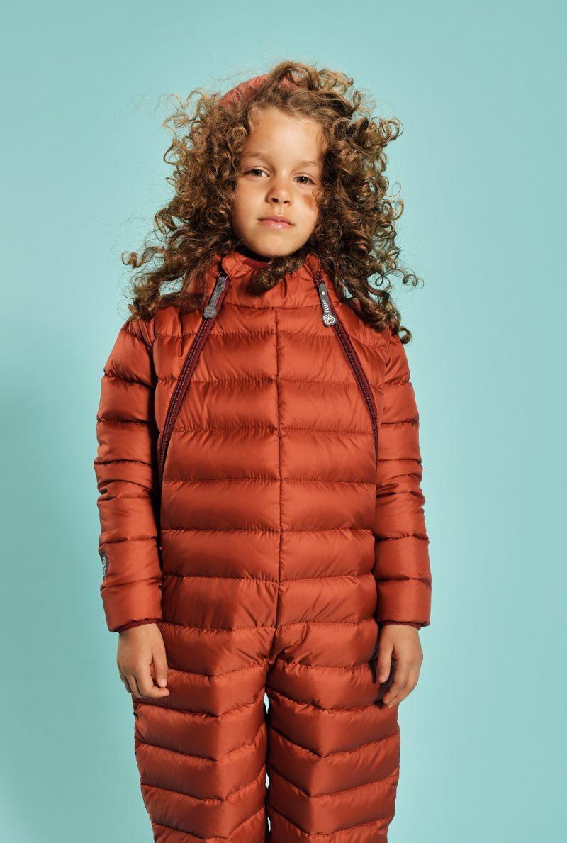 Ginger Amber snowsuit