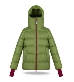 High chin guard Dark Forest jacket