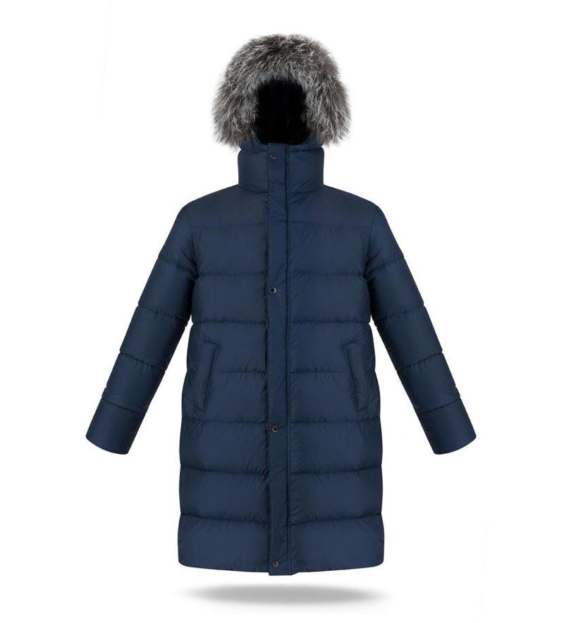 Navy Blue Man Coat