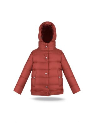 Two lengths ginger coat