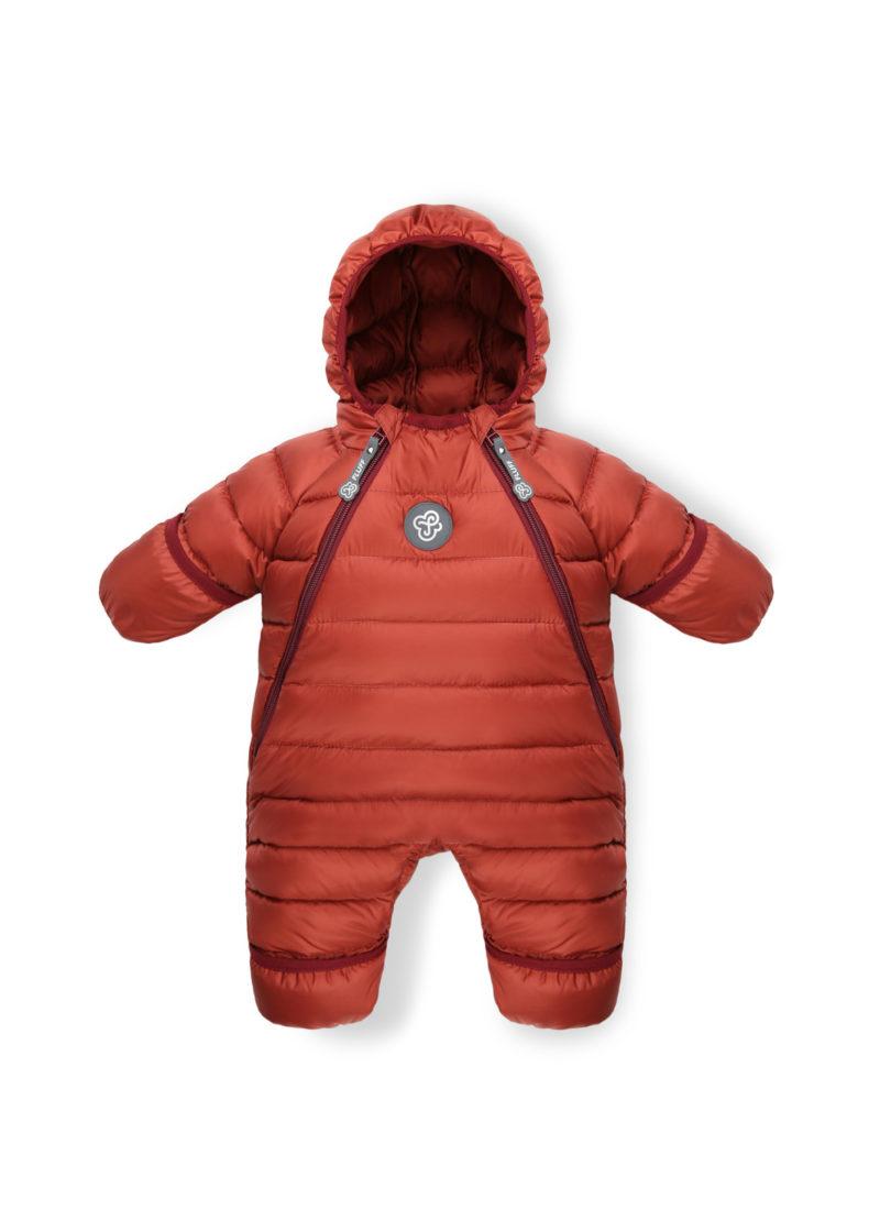 Ginger Amber baby snowsuit