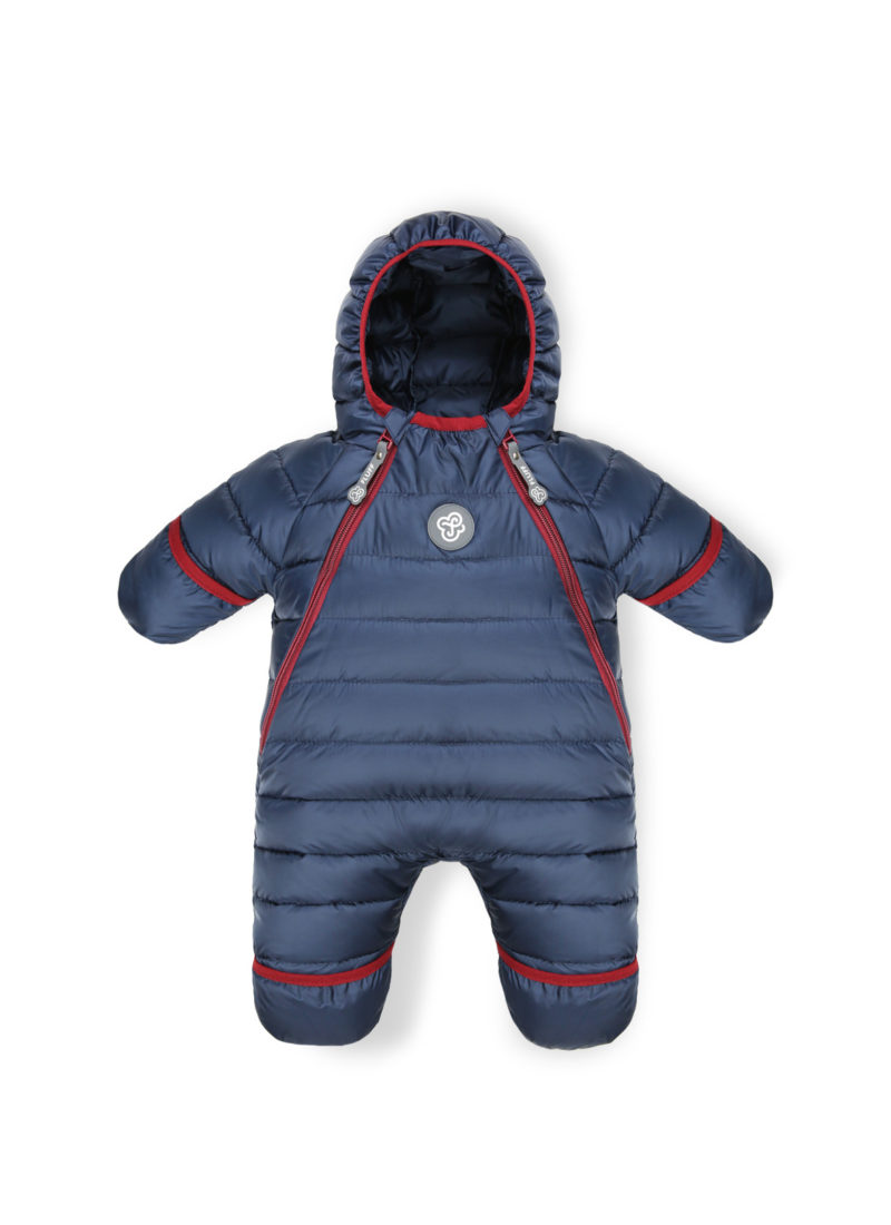 Navy Blue baby snowsuit