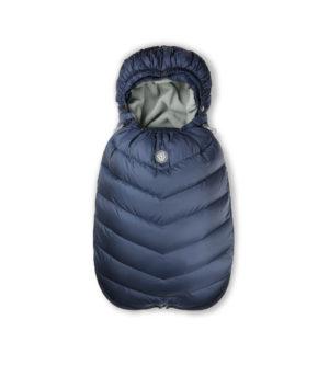 Navy blue sleeping bag