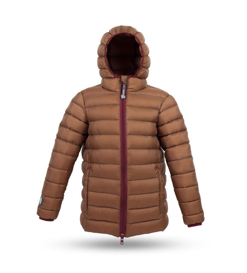 Chocolate brown jacket