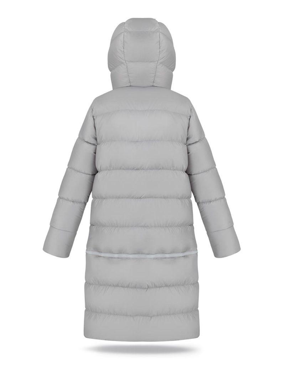 Two lengths women coat in Light Grey