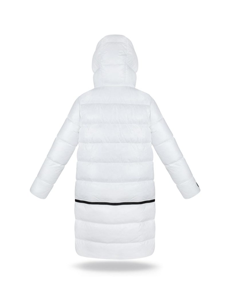Two lengths white coat- ECO