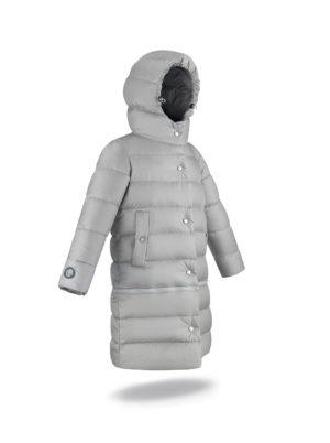 Two lengths Light Grey coat