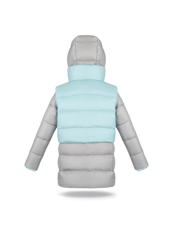 Jacket & vest light grey