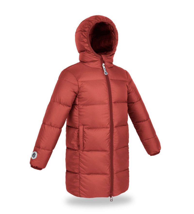 Ginger Amber Big Puffer coat