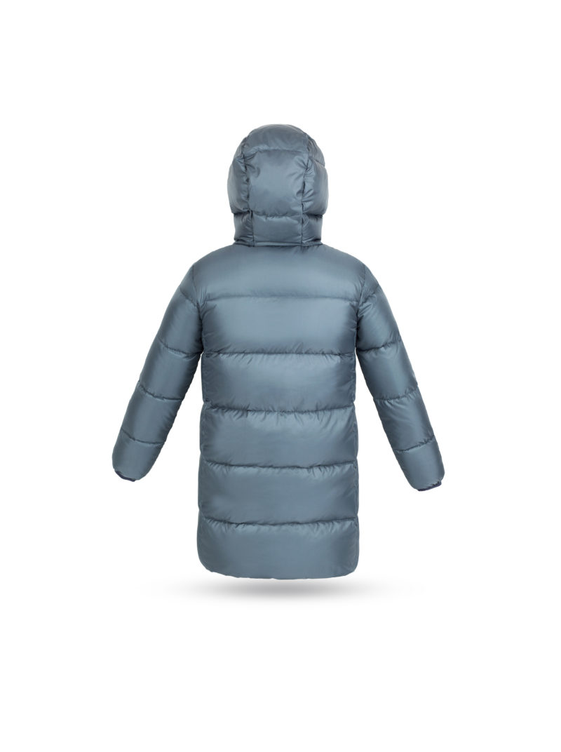 Grey Stone Big Puffer coat