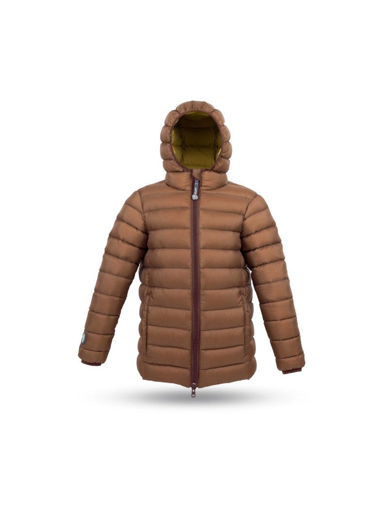 Oil of Oil&Chocolate Brown reversible jacket