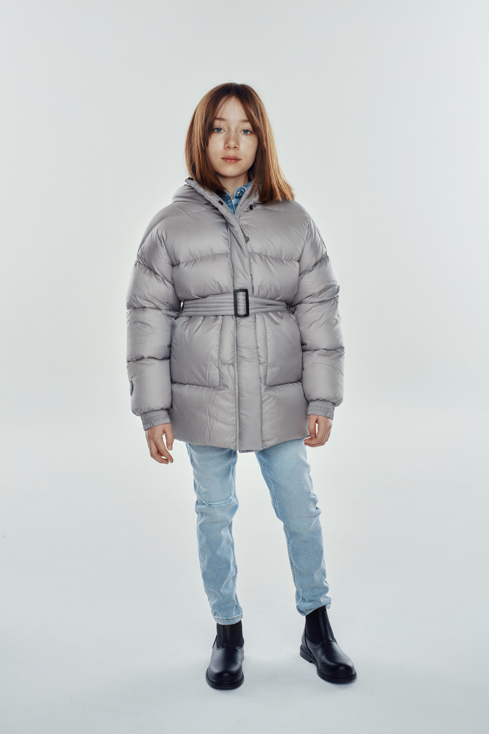 military kid light grey