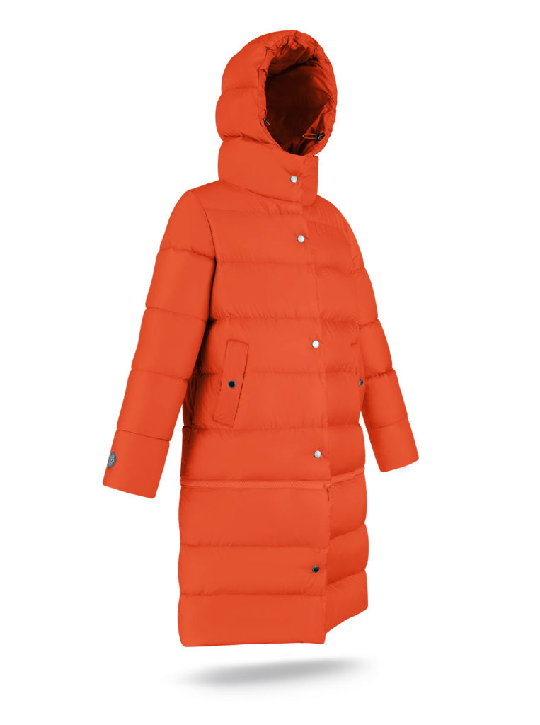 Płaszcz Two lengths Orange