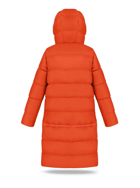 Two lengths Orange coat