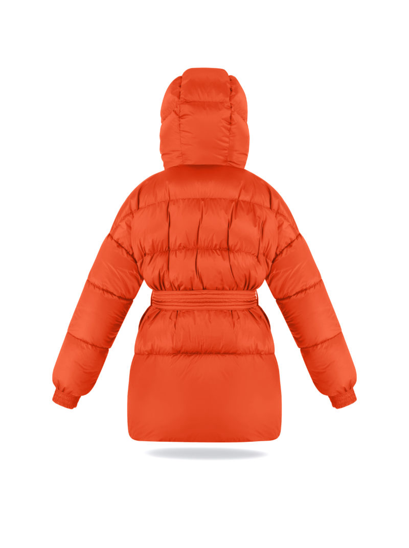 Military jacket in Orange