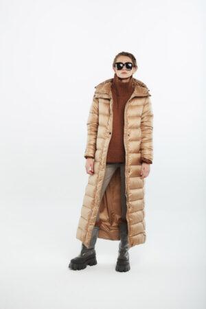 long coat caramel