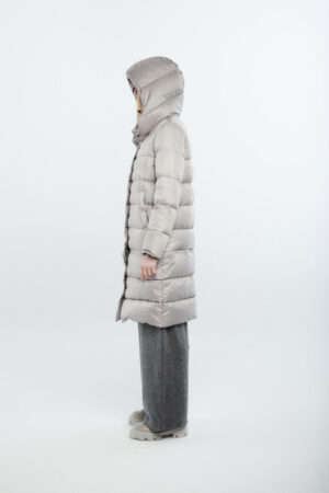 two lengths women light grey
