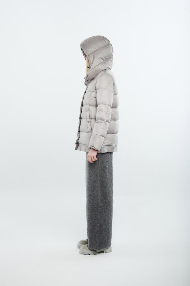two lenghts women light grey