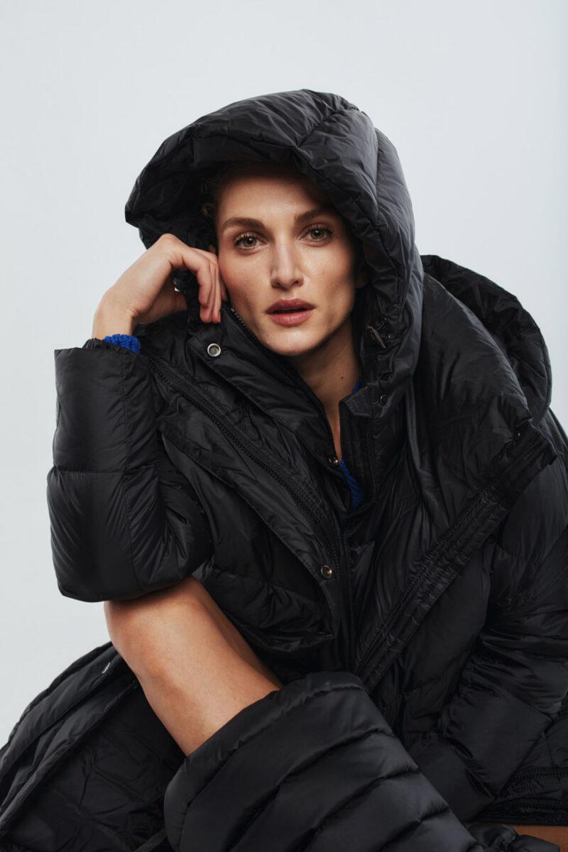 long coat black