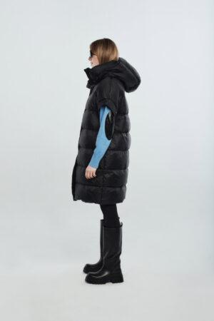 Detachable sleeves black