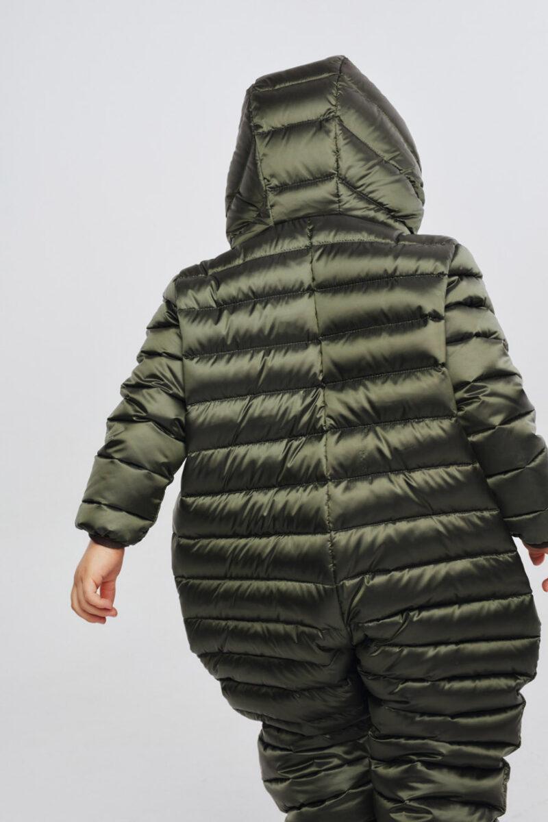 snowsuit dark green