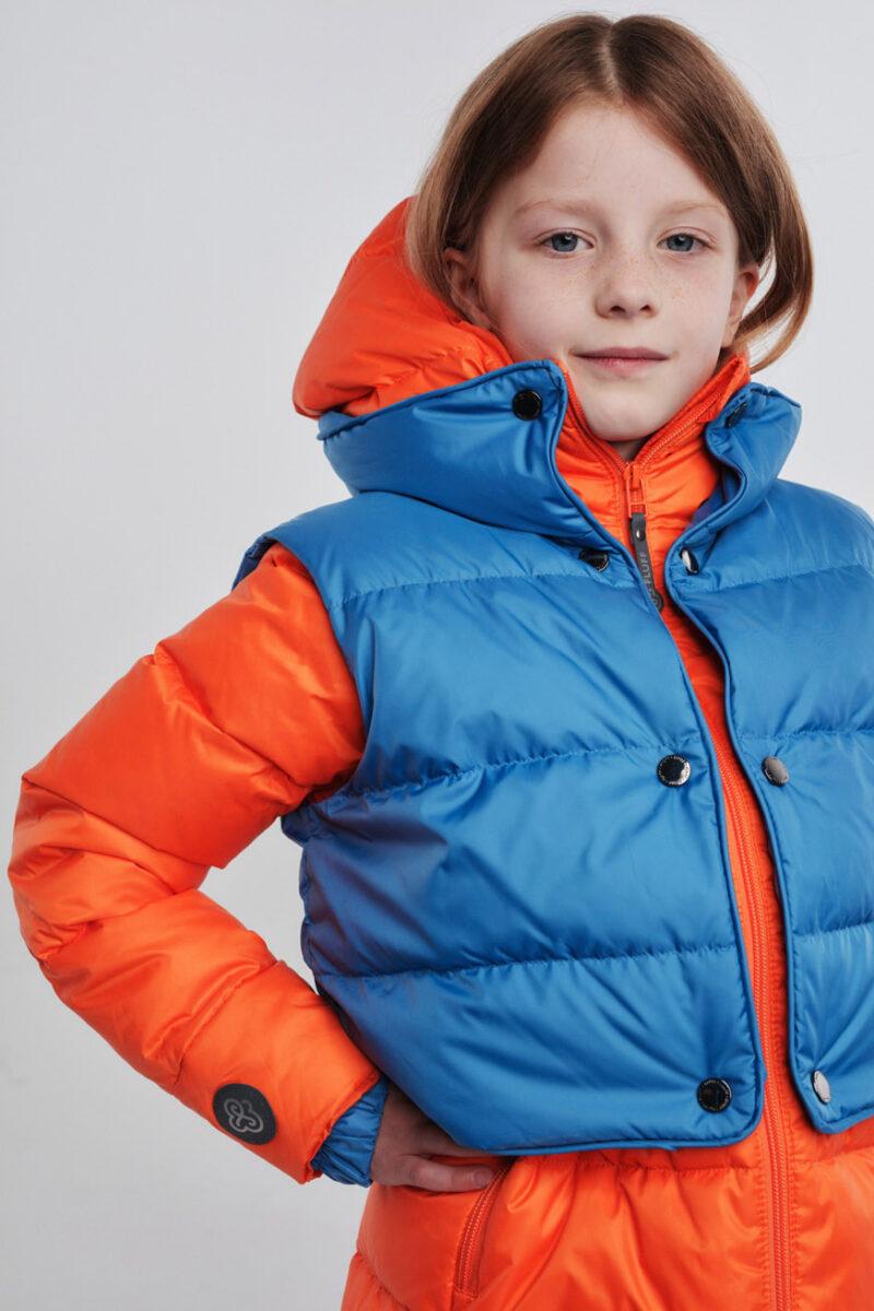 jacket&vest orange