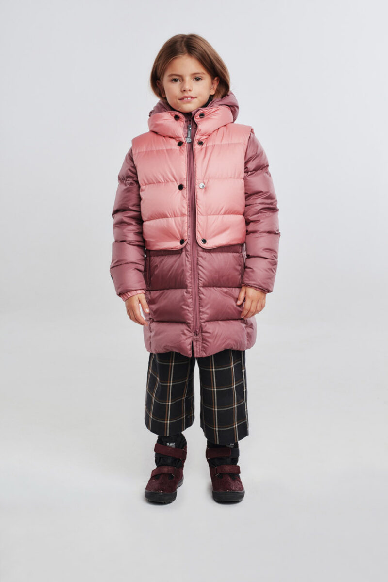 jacket&vest plum