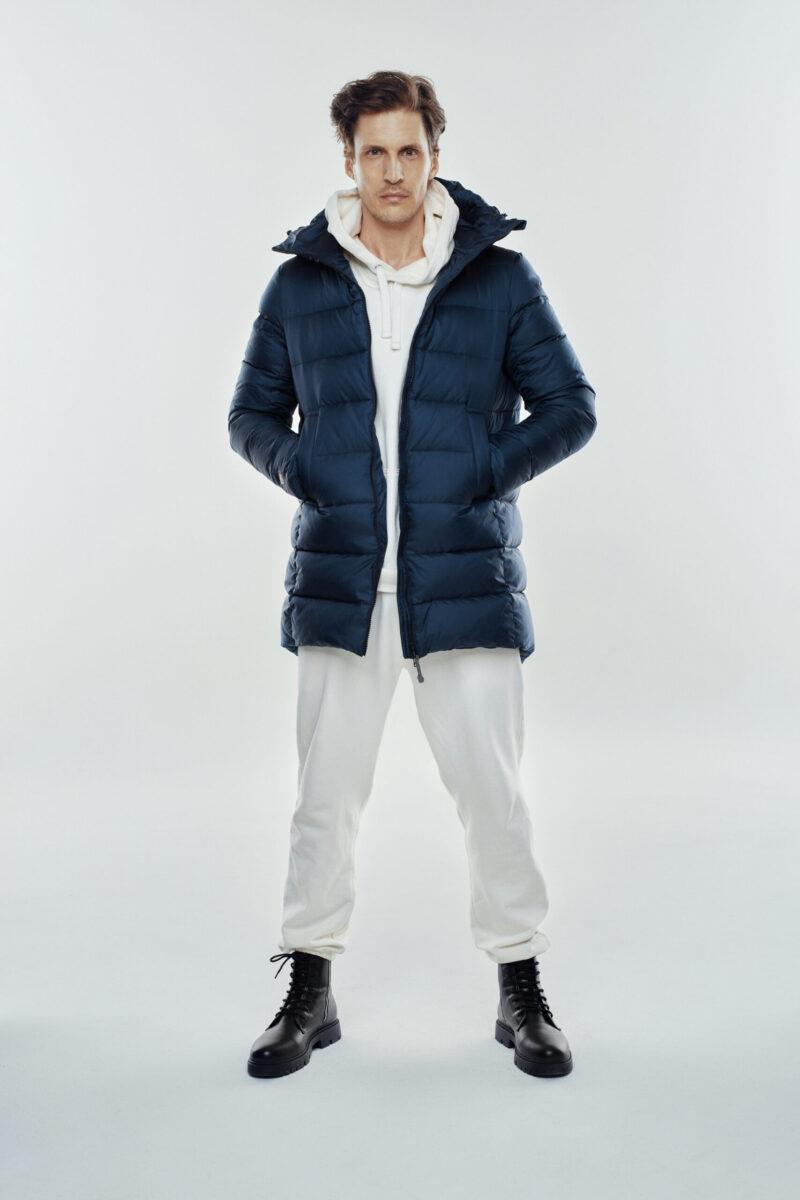 basic jacket man navy