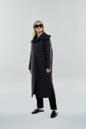 black spring coat