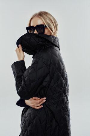 spring black coat