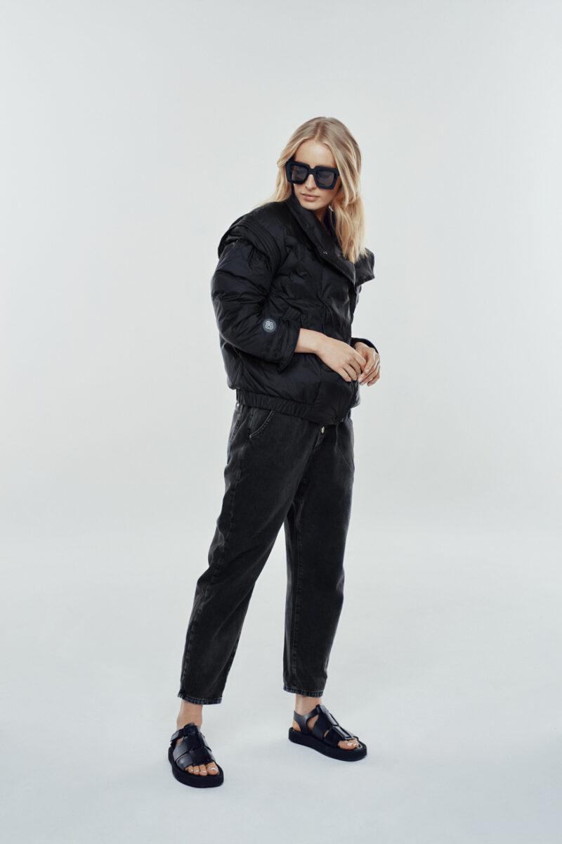 spring black jacket