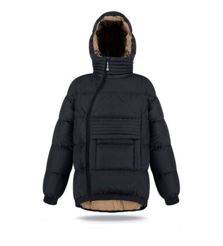 man hoodie jacket black