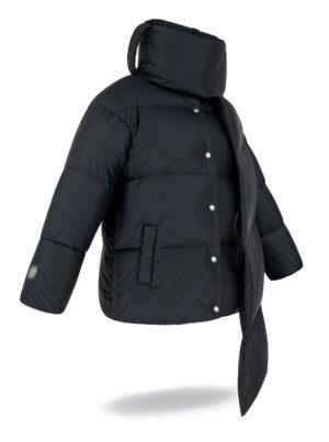 collar jacket black