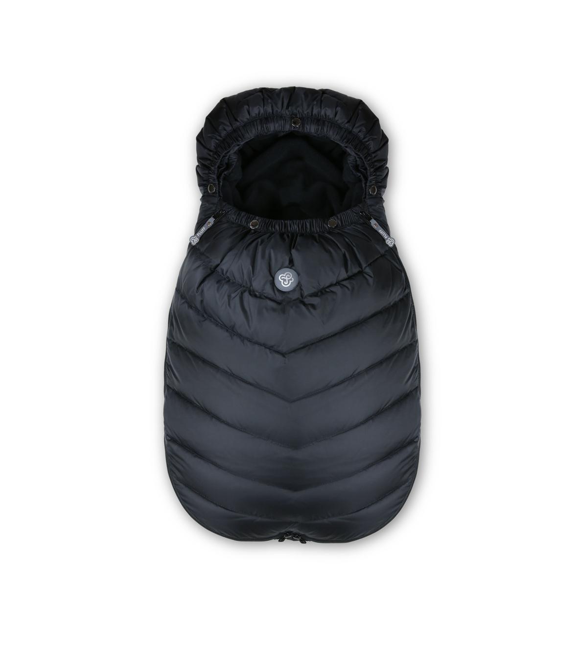 Black sleeping bag