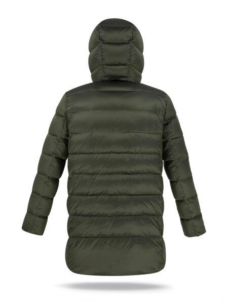 basic jacket man dark green